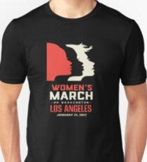 Womens March On Los Angeles T-Shirt