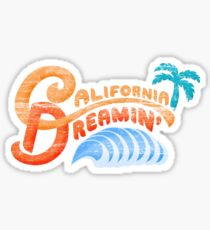 California Dreamin' Sticker