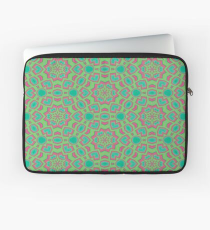 Intersecting Circles by Julie Everhart Laptop Sleeve