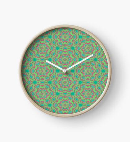 Intersecting Circles by Julie Everhart Clock