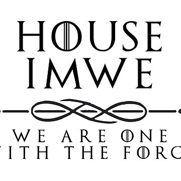 House Imwe - black by houseorgana