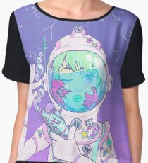 Space Bae Chiffon Top