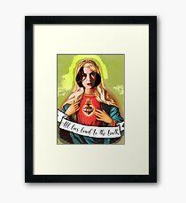 Holy Scully Framed Print
