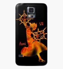 Der Sturm der tanzenden Flammen Hülle & Klebefolie für Samsung Galaxy