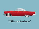 1957 Thunderbird by FrankieCat