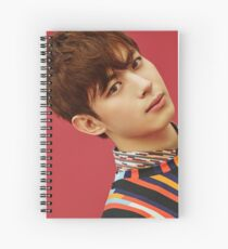 vixx hongbin zelos Spiral Notebook