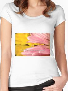 Extraordinary Women's Fitted Scoop T-Shirt