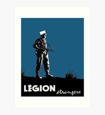 Foreign Legion Art Print