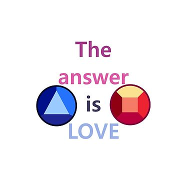 The Answer is Love (v2) by chaotichomo