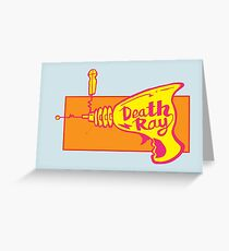 Death Ray Greeting Card