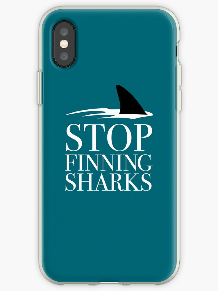 STOP FINNING SHARKS by maydaze