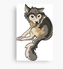 Nymeria Dire Wolf Cub Puppy Canvas Print