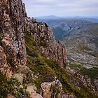 Climbing the Summit - Cradle Mountain by Lexa Harpell