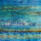 Blue Painting by Kathie Nichols