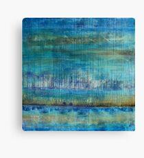 Blue Painting Canvas Print