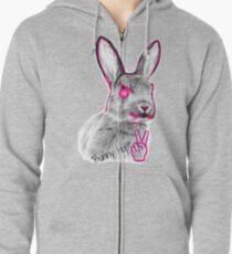 Bunny Hop Zipped Hoodie