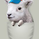 POCKET LAMB WITH HAT by MEDIACORPSE
