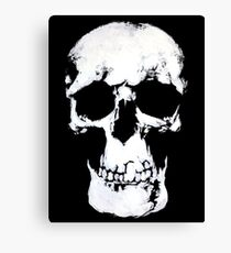 Sherlock Why Do You Have a Skull on Your Wall? Canvas Print