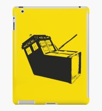 Murdered Tardis - (Reported missing next Tuesday) iPad Case/Skin