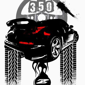 350Z BEASTIE T Shirt by ArtGear