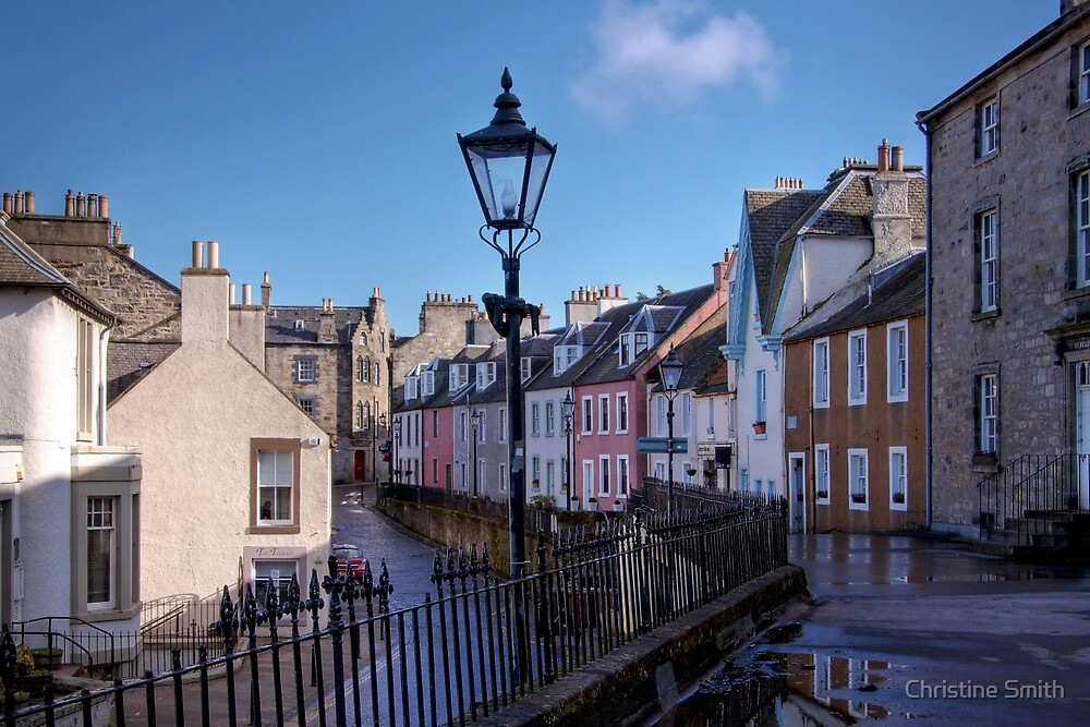 High Street, South Queensferry by Christine Smith