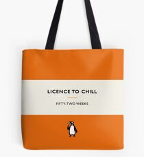 Licence to Chill Tote Bag
