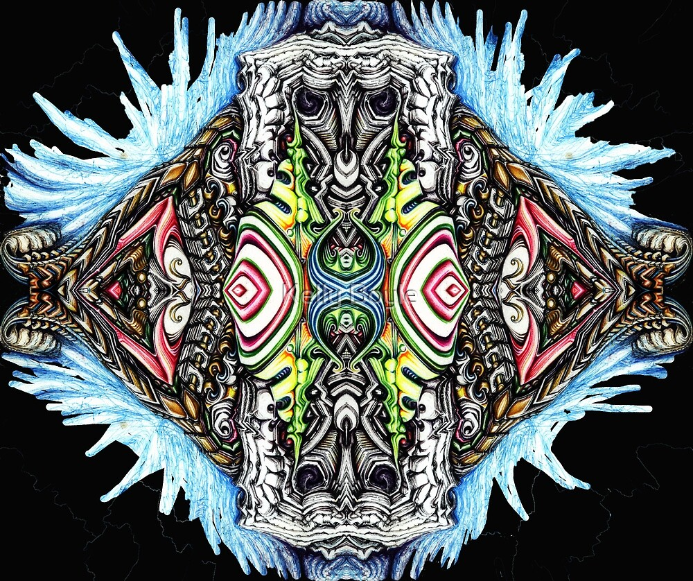 Bio Mech Animal Energy Explosion by Kelly Boyle