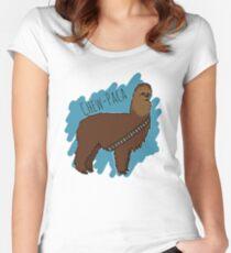 Chewbacca Alpaca Women's Fitted Scoop T-Shirt