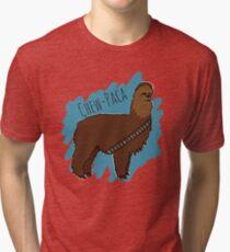 Chewbacca Alpaca Tri-blend T-Shirt