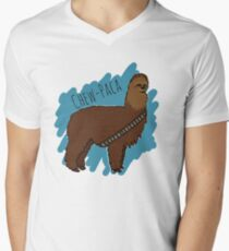 Chewbacca Alpaca Men's V-Neck T-Shirt