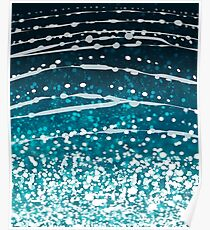 Whale Shark Pattern Poster