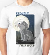 Proudly I'm a wolf Unisex T-Shirt