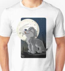 Little Wolf Howling T-Shirt