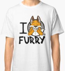 I grrarrrgh furry (fox version) Classic T-Shirt