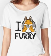I grrarrrgh furry (fox version) Women's Relaxed Fit T-Shirt