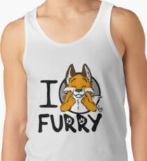 I grrarrrgh furry (fox version) Tank Top