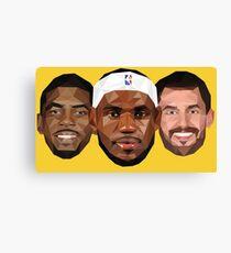 3 Best friends Canvas Print