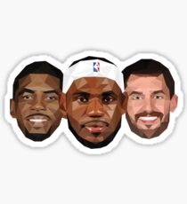 3 Best friends Sticker