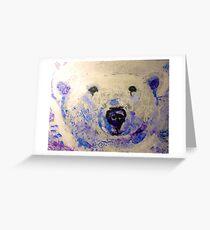 Chloe the Polar Bear Greeting Card