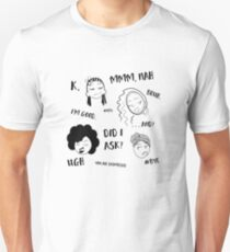 Guess Who Isn't Interested? Unisex T-Shirt