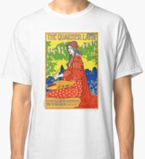 French Vintage Magazine Poster Restored Classic T-Shirt