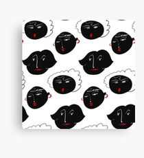 Funny Faces Canvas Print