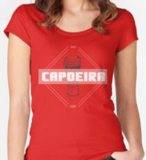 Capoeira Losange Women's Fitted Scoop T-Shirt