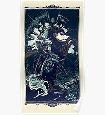 Die Astrale Jungfrau Poster