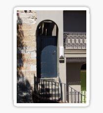 Old Door Sticker