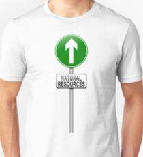 Natural resources concept. T-Shirt