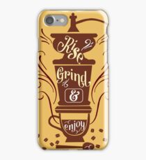Rise and Grind iPhone Case/Skin