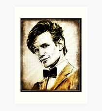 Matt Smith Dr Who Art Print