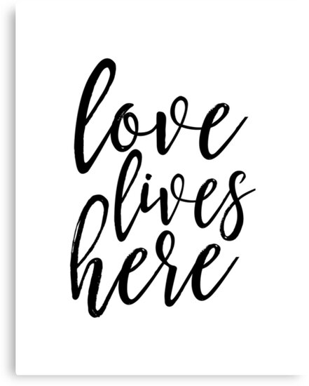 Love Lives Herefamily Signhome Decorlove Signhome Wall Art