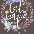 CAT PAPA - Flower crown by Medusa Dollmaker